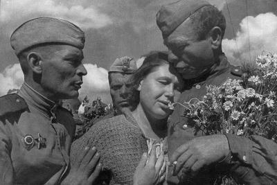 Victory Day, World War II, USSR, 1945--Giclee Print