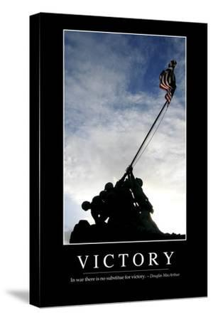 Victory: Inspirational Quote and Motivational Poster