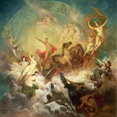 Victory of Light over Darkness, 1883-84-Hans Makart-Giclee Print