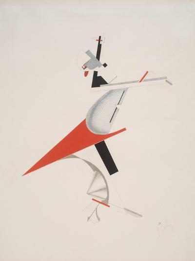 Victory Over the Sun, 7. Troublemaker-El Lissitzky-Giclee Print