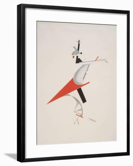 Victory Over the Sun, 7. Troublemaker-El Lissitzky-Framed Giclee Print