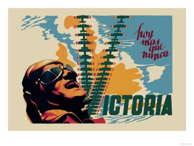 Victory-Josep Renau Montoro-Art Print