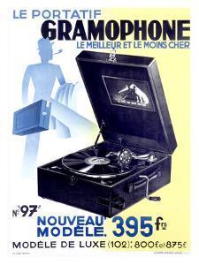 Victrola Portable Phonograph