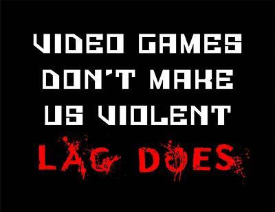 Video Games Don't Make us Violent - Black-Color Me Happy-Art Print
