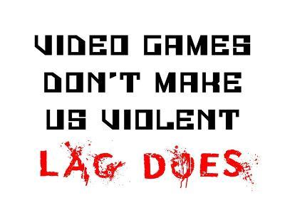 Video Games Don't Make us Violent - White-Color Me Happy-Art Print