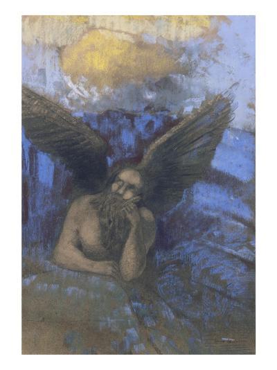 Vieil ange-Odilon Redon-Giclee Print