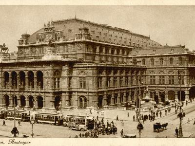 Vienna Opera House or Staatsoper--Photographic Print