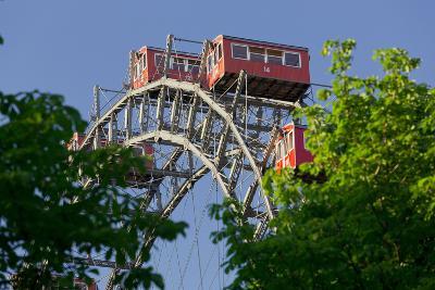 Viennese Ferris Wheel, Prater, 2nd District, Leopoldstadt, Vienna, Austria-Rainer Mirau-Photographic Print