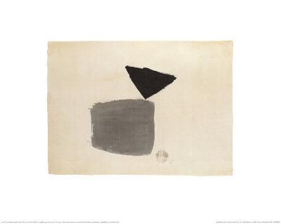 Viereck Und Dreieck, c.1948-Julius Bissier-Art Print
