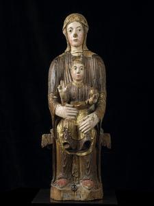 Vierge à l'Enfant en majesté