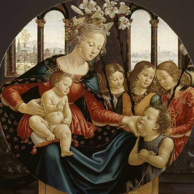 Vierge à l'Enfant-Domenico Ghirlandaio-Giclee Print
