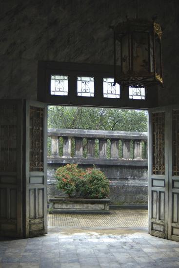 Vietnam. Doors Leading to a Patio, Khai Dinh Tomb, Hue, Thua Thien?Hue-Kevin Oke-Photographic Print