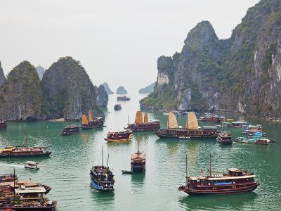 Vietnam, Halong Bay-Steve Vidler-Photographic Print