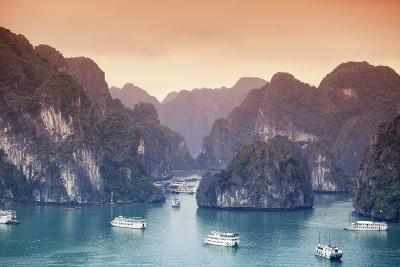 Vietnam, Halong Bay-Michele Falzone-Photographic Print