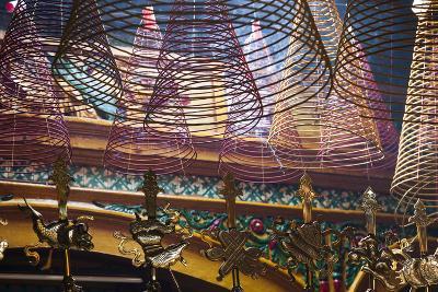 Vietnam, Ho Chi Minh City. Cholon, Chinatown Area, Phuoc an Hoi Quan Pagoda, Interior-Walter Bibikow-Photographic Print
