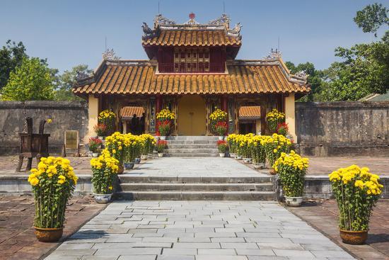 Vietnam, Hue. Tomb Complex of Emperor Minh Mang-Walter Bibikow-Photographic Print