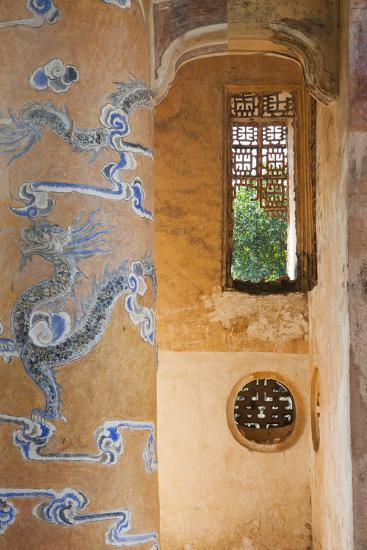 Vietnam, Hue. Tomb of Emperor Tu Duc-Walter Bibikow-Photographic Print