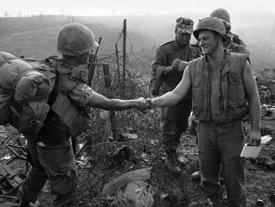 Vietnam Marines 1st Cavalry 1968-Holloway-Photographic Print