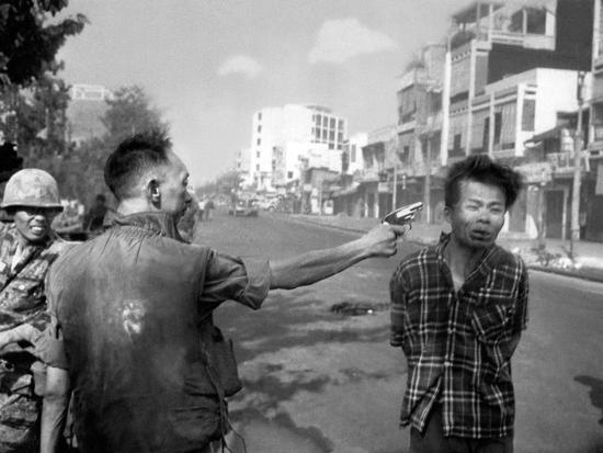 Vietnam War Saigon Execution-Eddie Adams-Photographic Print