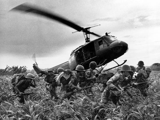 Vietnam War U.S. Army Helicopter-Nick Ut-Photographic Print