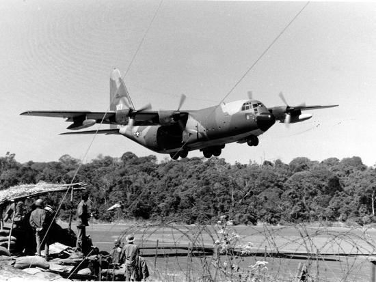 Vietnam War USAF C-130-Nick Ut-Photographic Print