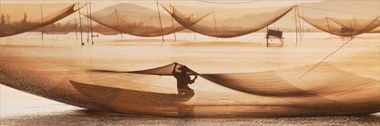 Vietnamese Fishing-Nhiem Hoang The-Giclee Print