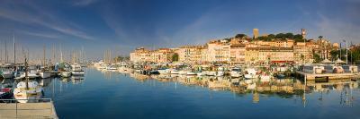 Vieux Port and Old Quarter of Le Suquet, Cannes, Cote D'Azur, France-Michele Falzone-Photographic Print
