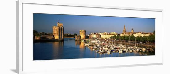 Vieux Port Tour St. Nicholas Tour De La Chaine La Rochelle France--Framed Photographic Print