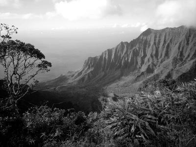 View Above the Na Pali Coast, Kauai, Hawaii, USA-Christopher Talbot Frank-Photographic Print