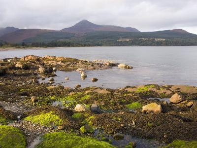 View across Brodick Bay to Goatfell, Brodick, Isle of Arran, North Ayrshire-Ruth Tomlinson-Photographic Print