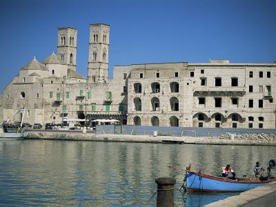 View Across Harbour to Duomo Vecchio, Molfetta, Puglia, Italy, Mediterranean-Sheila Terry-Photographic Print