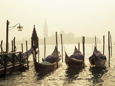 View Across Lagoon Towards San Giorgio Maggiore, from St. Mark's, Venice, Veneto, Italy-Lee Frost-Photographic Print