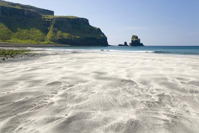 View across the Black and White Sands of Talisker Bay-Ruth Tomlinson-Photographic Print