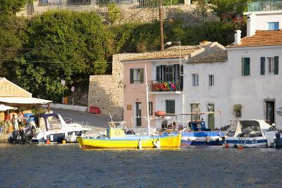 View across the Colourful Harbour, Loggos, Paxos, Paxi, Corfu, Ionian Islands, Greek Islands-Ruth Tomlinson-Photographic Print