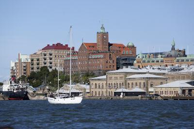 View across the Gota Alv River to Riverfront Buildings, Gothenburg, West Gothland, Sweden-Stuart Black-Photographic Print