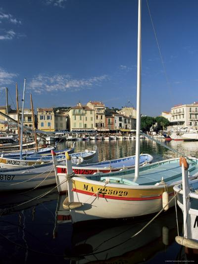 View Across the Harbour in the Evening, Cassis, Bouches-Du-Rhone, Provence, France, Mediterranean-Ruth Tomlinson-Photographic Print