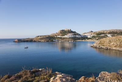 View across the Tranquil Waters of Lindos Bay, South Aegean-Ruth Tomlinson-Photographic Print