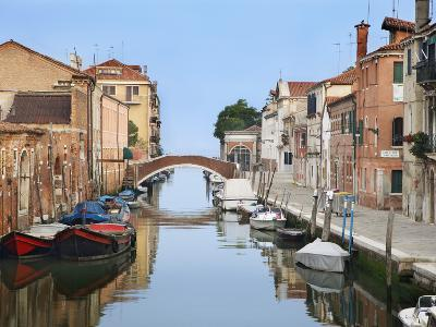 View Along City Canals, Venice, Italy-Dennis Flaherty-Photographic Print