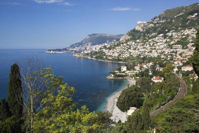 View Along Roquebrune Bay to Monte Carlo-Stuart Black-Photographic Print