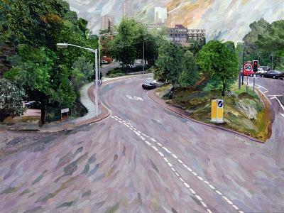View from a Flyover-Ellen Golla-Giclee Print