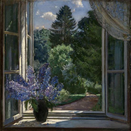 View from a Window, 1939-Stanislav Yulianovich Zhukovsky-Giclee Print