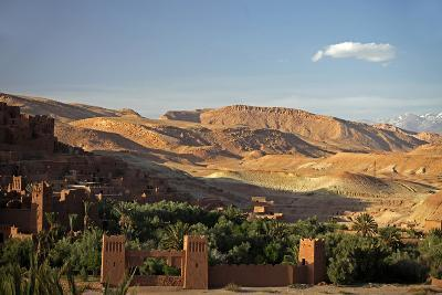 View from Ait Ben Haddou, UNESCO World Heritage Site, Ourzazate, Morocco, Africa-Kymri Wilt-Photographic Print