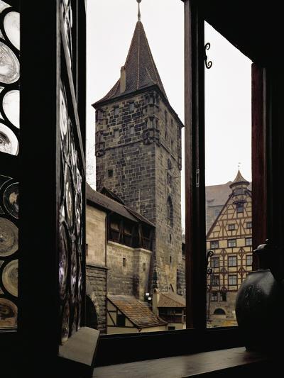View from Albrecht Duerer's House in Nuernberg, Germany-Albrecht D?rer-Giclee Print