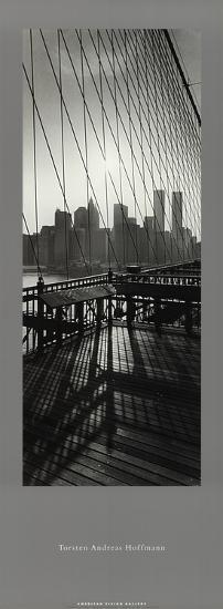 View From Brooklyn Bridge-Torsten Hoffmann-Art Print