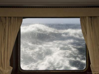 View from Cabin on Antarctic Dream Navigation on Rough Seas Near Cape Horn-Sergio Pitamitz-Photographic Print