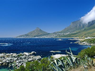 View from Chapman's Peak Drive, Near Cape Town, South Africa-Fraser Hall-Photographic Print