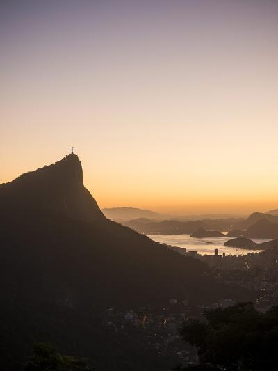 View from Chinese Vista at Dawn, Rio De Janeiro, Brazil, South America-Ben Pipe-Photographic Print