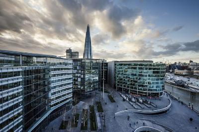 View from City Hall Rooftop over London Skyline, London, England, United Kingdom, Europe-Ben Pipe-Photographic Print