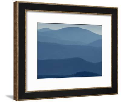 View from Clingmans Dome on the Tennessee/North Carolina Border-George F. Mobley-Framed Photographic Print