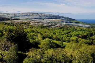 View from Corkscrew Hill Towards Ballyvaughan, Clare-Chris Hill-Photographic Print